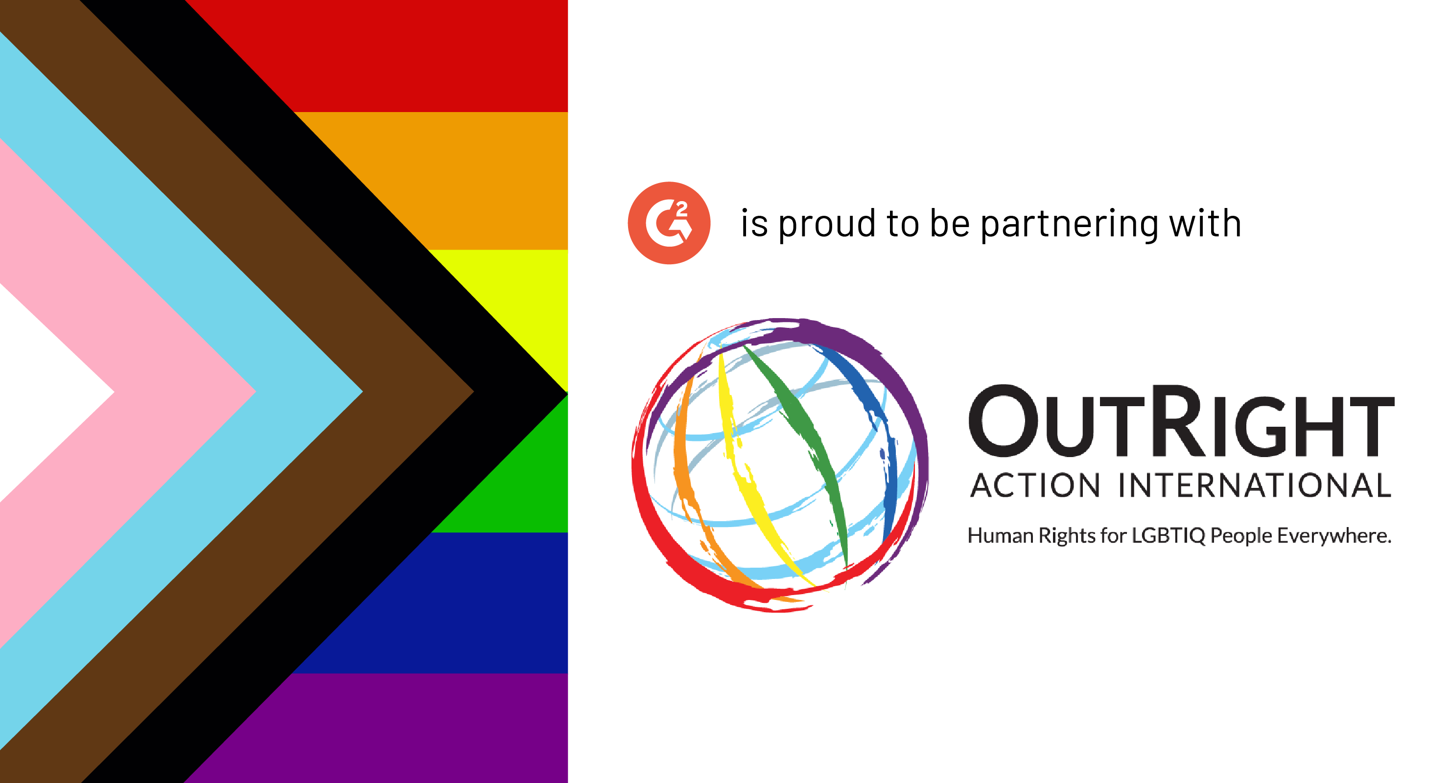 G2 Gives Celebrates Pride With OutRight Action International